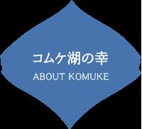コムケ湖の幸